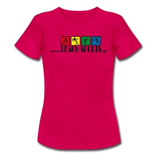 Werbeshirt -BEACH-SPORTS - Frauen T-Shirt