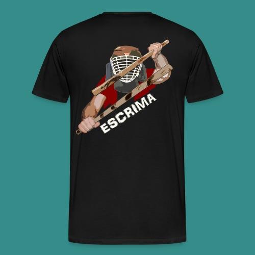 Escrima Stockkampf - Männer Premium T-Shirt