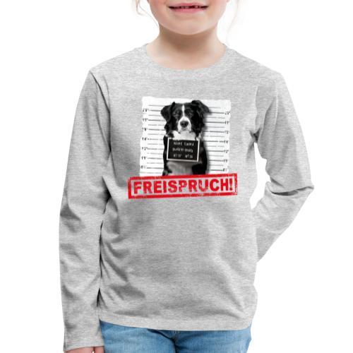 NEU Kinder Langarmshirt - Freispruch  - Kinder Premium Langarmshirt