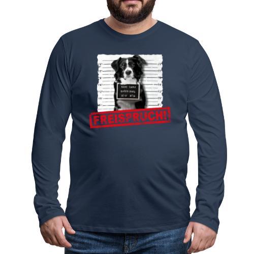 NEU! Männer Langarmshirt - Freispruch  - Männer Premium Langarmshirt