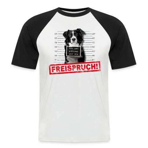 NEU! Männer Baseball T-Shirt - Freispruch  - Männer Baseball-T-Shirt