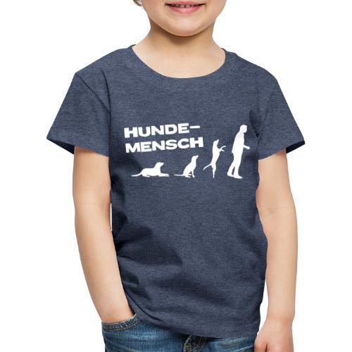 Neu  Kinder T-Shirt - Hundemensch - Kinder Premium T-Shirt