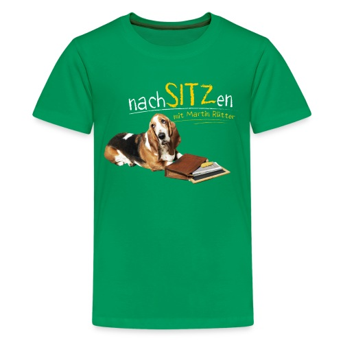 Neu Teenager T-Shirt - Nachsitzen - Teenager Premium T-Shirt