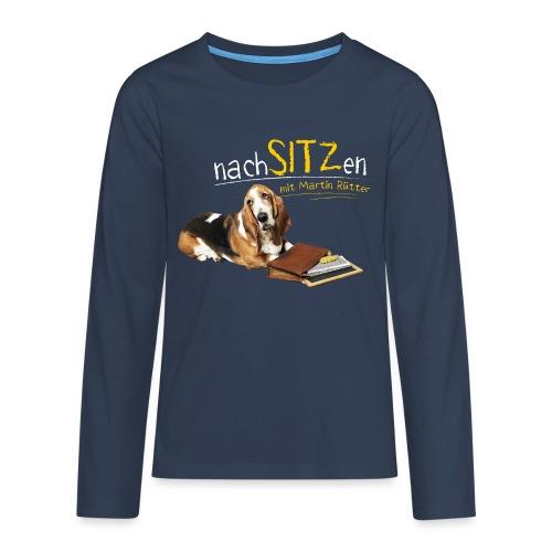 Neu Teenager Langarmshirt - Nachsitzen - Teenager Premium Langarmshirt