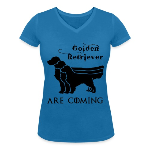 Golden Retriever - Abby photography FAN Shirt - Frauen Bio-T-Shirt mit V-Ausschnitt von Stanley & Stella