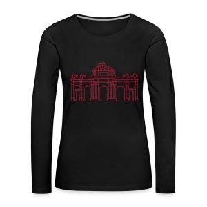 Alcalá-Tor Madrid  - Frauen Premium Langarmshirt