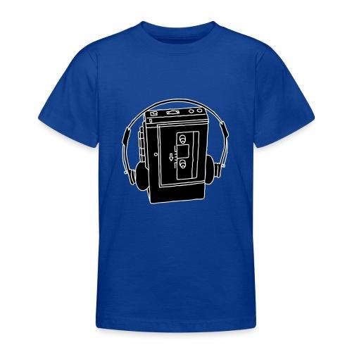WALKMAN Tragbarer Kassettenrekorder 2 - Teenager T-Shirt