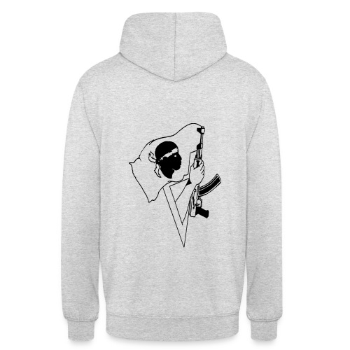 Resistenza - Sweat-shirt à capuche unisexe