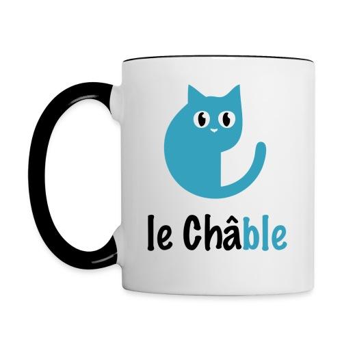 Mug Le Châble - Mug contrasté