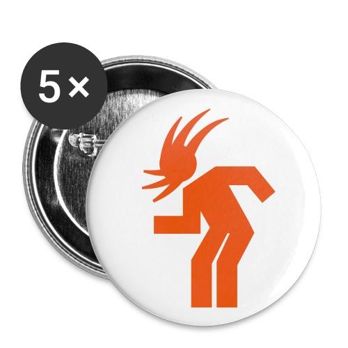 Headbanger Badges - Buttons small 25 mm