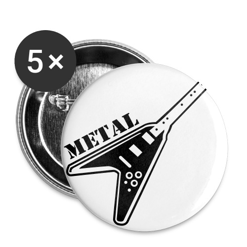 Guitar Badges - Buttons small 25 mm