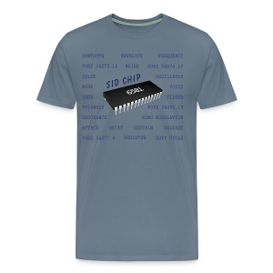 Programmer's T-Shirt, 6581 SID Chip (C64) - Men's Premium T-Shirt