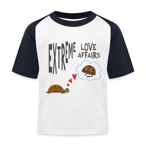 turtle - Maglietta da baseball per bambini