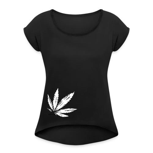 Hemp Nature - Frauen T-Shirt mit gerollten Ärmeln