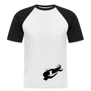 Stahlhart - Männer Baseball-T-Shirt
