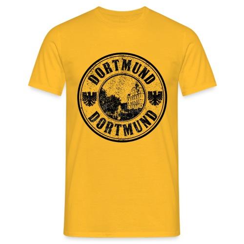 DORTMUND T-SIRT GELB - Männer T-Shirt