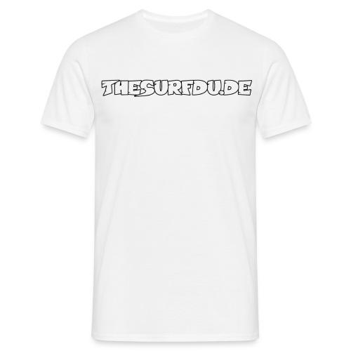 THESURFDU.DE - Front - Männer T-Shirt