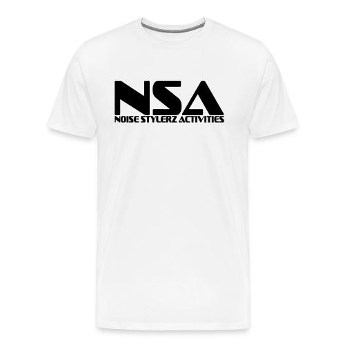 tshirt NSA blanc - T-shirt Premium Homme