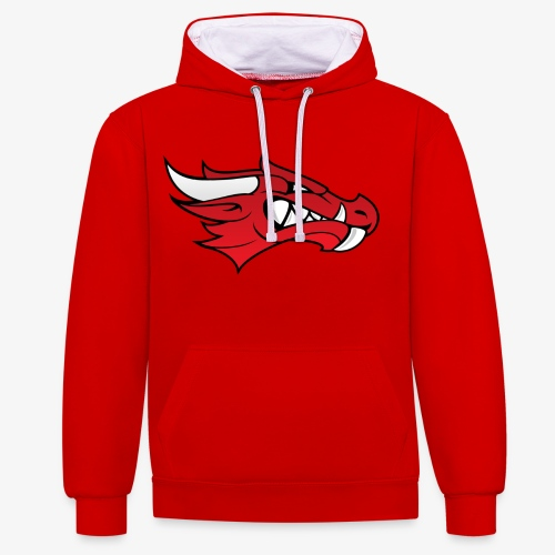 The Dragon Hoodie! - Contrast Colour Hoodie