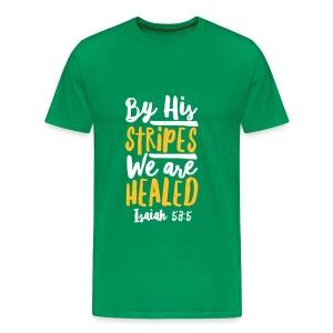 ISAIAH 53:5 - Men's Premium T-Shirt