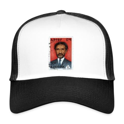Haile Selassie I - HIM - Jah Rastafari Trucker Cap - Trucker Cap