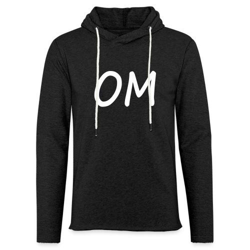 Kapuzensweatshirt: Yoga OM - Leichtes Kapuzensweatshirt Unisex
