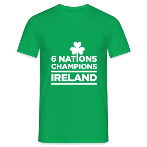 Ireland Rugby 6 Nations Champions - Men's T-shirts - Men's T-Shirt