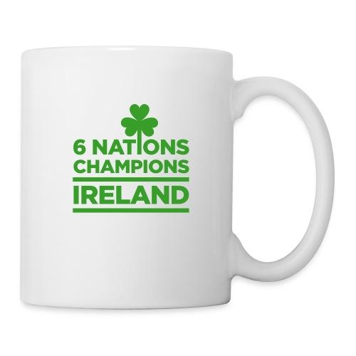 Ireland Rugby 6 Nations Champions - Mugs - Mug