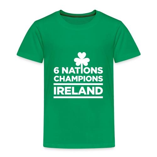 Ireland Rugby 6 Nations Champions - Kids T-shirts - Kids' Premium T-Shirt