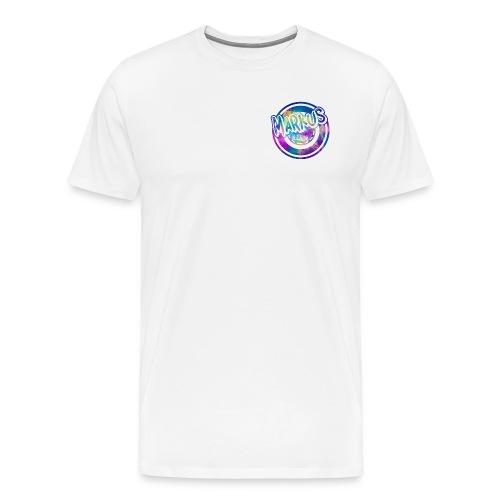 Markus T-Skjorte Mann Med Farget Motiv - Premium T-skjorte for menn