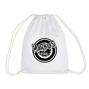 Markus Gym Bag Med Svart Motiv - Gymbag