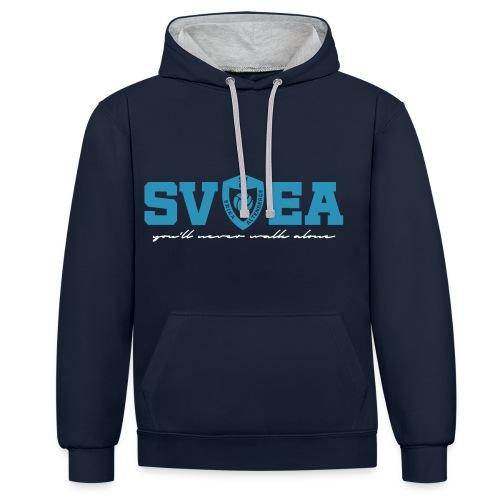 SVEA Hoodie - Kontrast-Hoodie