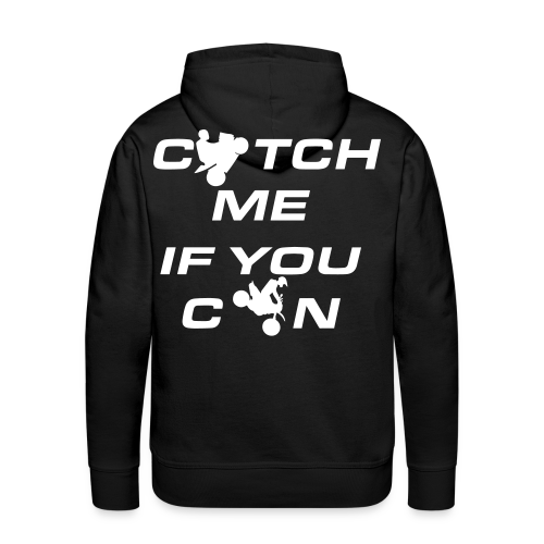 Catch Me Hoodie | WHITE - Männer Premium Hoodie