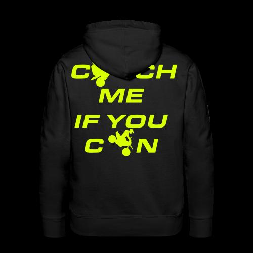 Catch Me Hoodie | NEO YELLOW - Männer Premium Hoodie