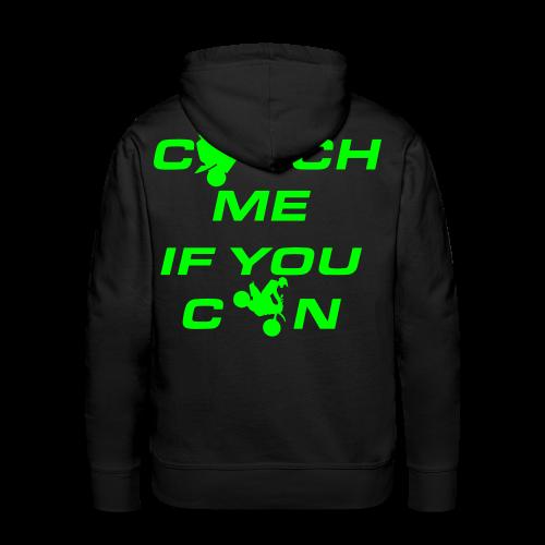 Catch Me Hoodie | NEO GREEN - Männer Premium Hoodie
