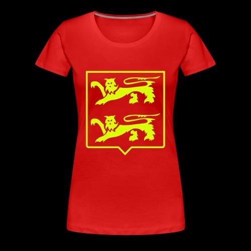 Blason Normandie - T-shirt Premium Femme