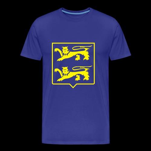 Blason Normandie - T-shirt Premium Homme
