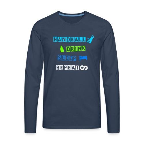 Warm-Up Shirt - Männer Premium Langarmshirt