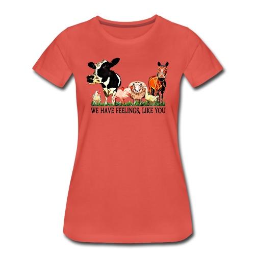 Loving Animals 2 - Women's Premium T-Shirt
