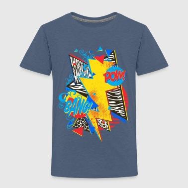 Pop Art Design - Kinder Premium T-Shirt
