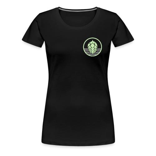 Schwenkenshirt Dolde - Frauen Premium T-Shirt