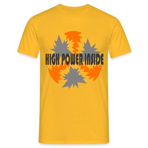 high power - Maglietta da uomo