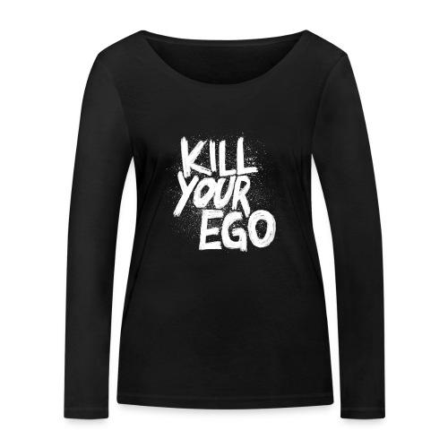 Ego-Killing hochwertiges Longsleeve aus Bio-Material für Gymqueens - Frauen Bio-Langarmshirt von Stanley & Stella