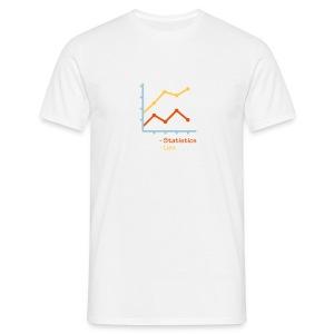 Statistieken en leugens - Mannen T-shirt