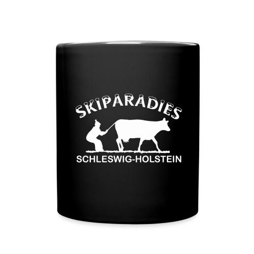 Skiparadies Schleswig-Holstein - Tasse einfarbig