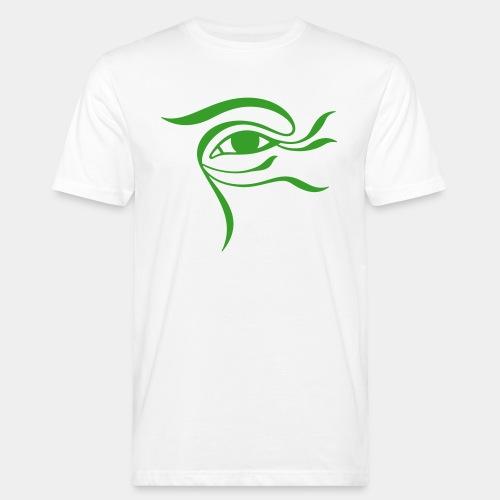 Œil-Fleur 2 (monochrome) - T-shirt bio Homme