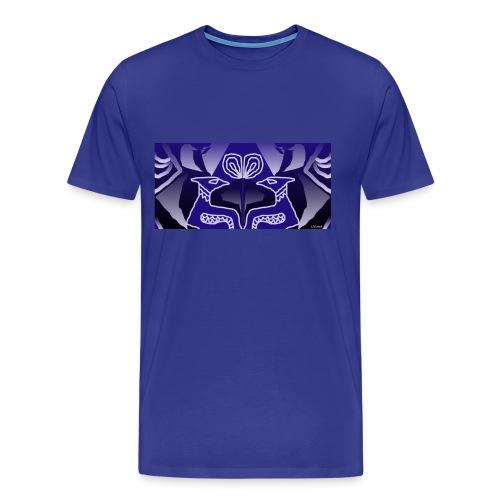 Tribal blue - Maglietta Premium da uomo