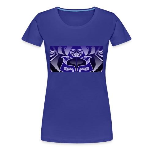 Tribal blue - Maglietta Premium da donna