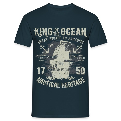King of the Ocean - Men's T-Shirt