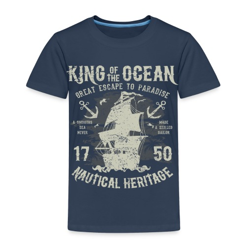 King of the Ocean - Kids' Premium T-Shirt